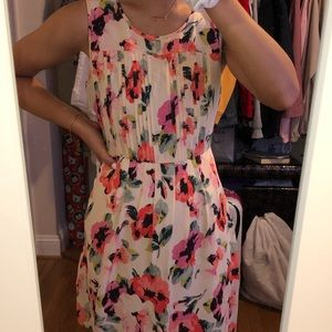 Madewell floral dress!!